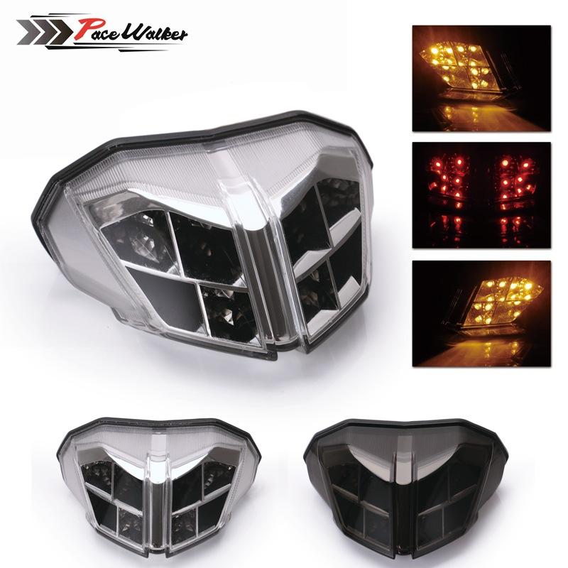 Tkspeed đèn xe Phụ kiện xe máy LED Đuôi đèn báo rẽ đêm Cảnh báo du lịch áp dụng Ducati 848 1098 1198