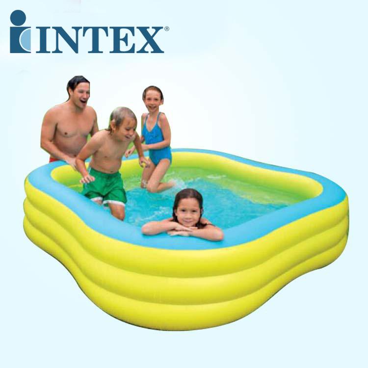 INTEX bể bơi trẻ sơ sinh INTEX đích thực 57495 hồ hoa mận lớn hồ bơi ngoài trời cho bé
