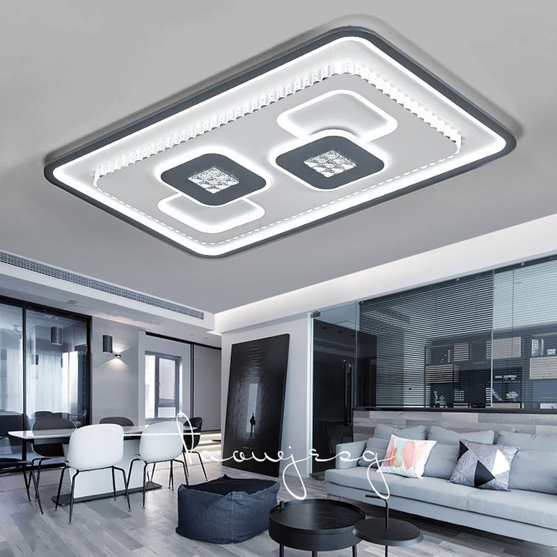 SHUOLU đèn ốp trần 2020 đèn phòng khách mới led đơn giản hiện đại đèn trần nhà không khí sáng tạo cá