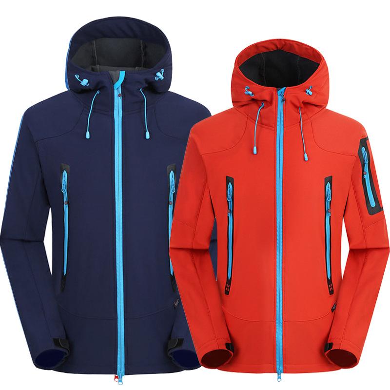 Quần áo leo núi Áo khoác ngoài trời mềm mại cho nam áo khoác lông cừu mềm mại phụ nữ mùa xuân và mùa