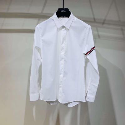 QINNU Áo Sơmi Áo sơ mi thời trang giản dị Hàn Quốc Slim Casual Hợp thời trang nam giới Áo sơ mi nam