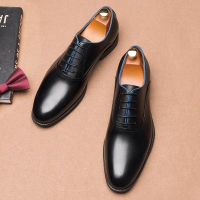 CGDL Giày da 2020 nam mới lớp da đầu tiên chất lượng cao giày da bình thường Da mềm đế mềm Phiên bản