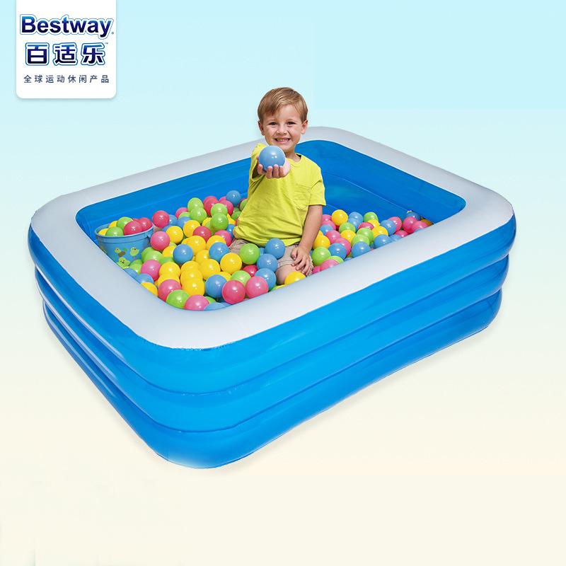 Bestway bể bơi trẻ sơ sinh trẻ em hồ bơi bơm hơi người lớn nhà paddling hồ bơi trẻ em hồ bơi