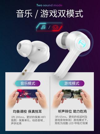 Edifier Tai nghe Bluetooth GM4 không dây thực sự Tai nghe Bluetooth tai nghe nhét tai kép 5.0 trong