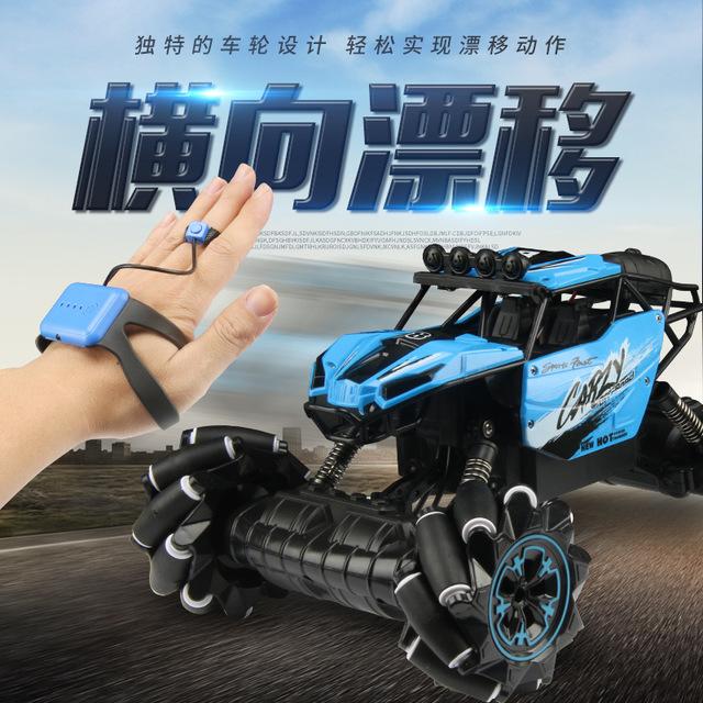 Xe điều khiển từ xa Cử chỉ điều khiển từ xa bốn bánh lái xe tốc độ cao sạc xe đồ chơi trẻ em đóng th