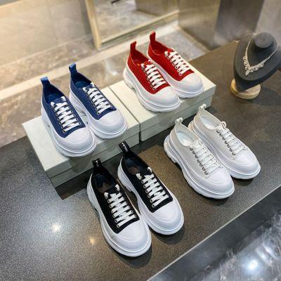 YIZIZU Giày bánh mì 2020 New McQueen Daddy Shoes Giày đế dày có đế dày Phụ nữ tăng cường không thấm