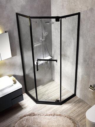 Muyouran Bồn đứng tắm   tùy chỉnh kim cương phòng tắm nhà tắm phòng phân vùng cửa kính phòng tắm ướt