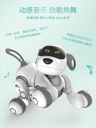 Yingjia Rôbôt  / Người máy  Robot thông minh điều khiển từ xa động vật đối thoại đi bộ robot cô gái