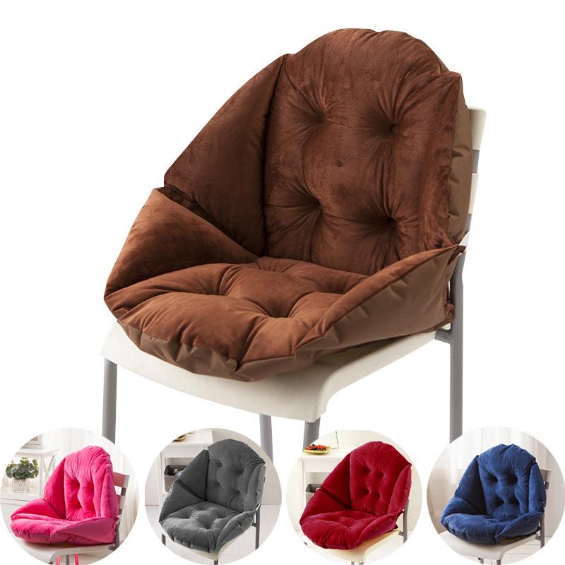 AISIYU Đệm ngồi Đệm văn phòng tích hợp đệm học sinh đệm ghế đệm dày chống trượt ghế đệm thoáng khí b