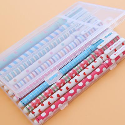 XUFENG Bút nước Văn phòng phẩm Hàn Quốc bút màu nước bút tùy chỉnh màu gel bút đen nước bút 10 màu p