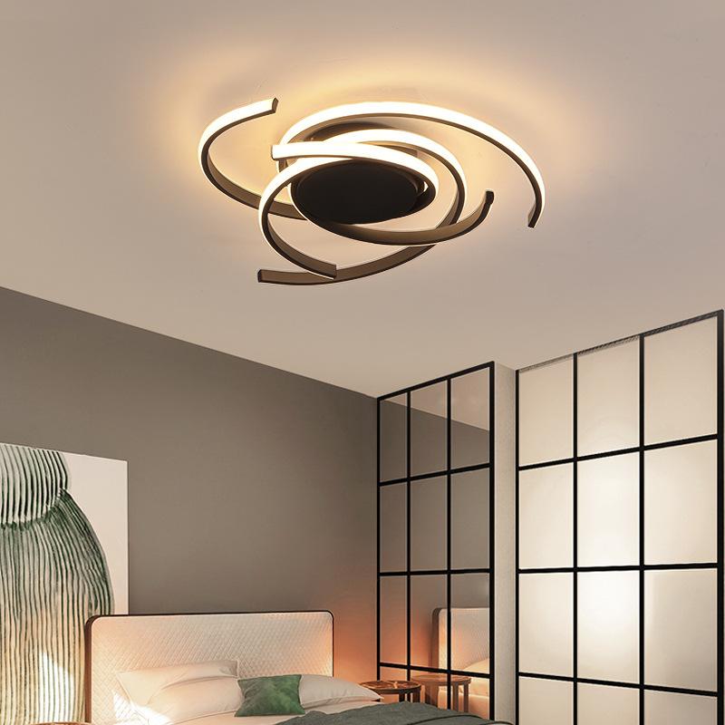 đèn ốp trần Bắc Âu led chủ phòng ngủ đèn trần đơn giản hiện đại chiếu sáng phòng cá tính ấm áp lãng