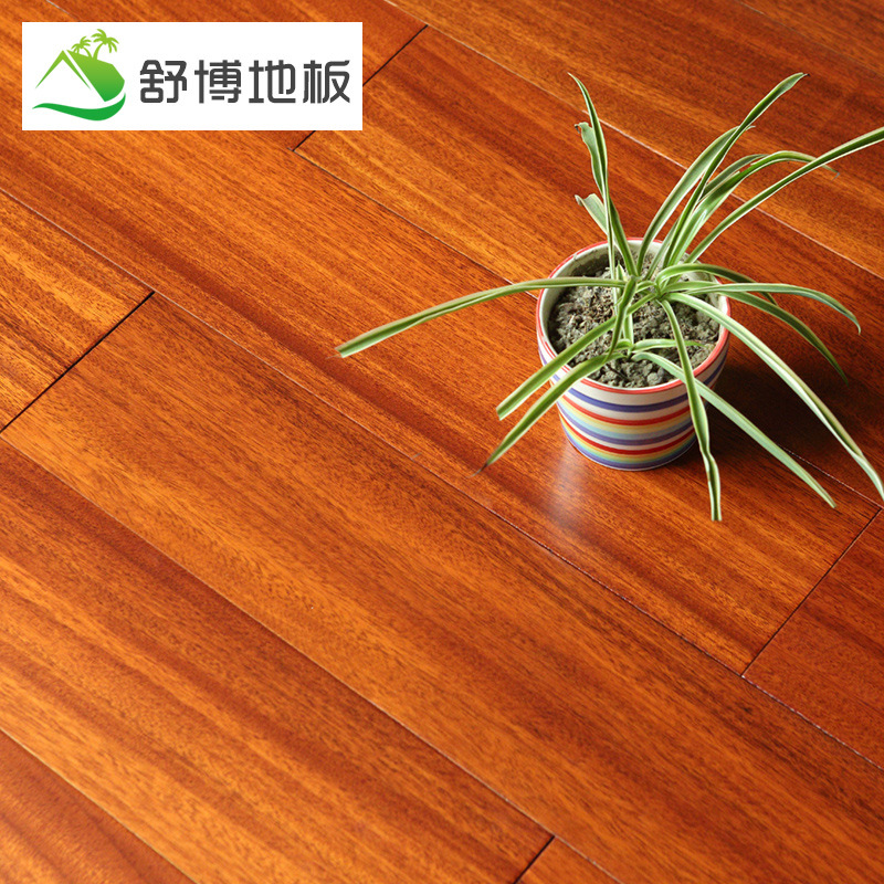 SHUBO Giấy dán tường Sàn gỗ nguyên chất, tay cầm màu xanh lá cây, sàn gỗ dâu, nhà máy cấp A bán hàng