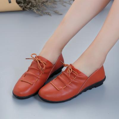 Giày mọi Gommino Một bàn đạp mùa xuân và mùa thu bằng phẳng với giày thông thường của Hàn Quốc Giày