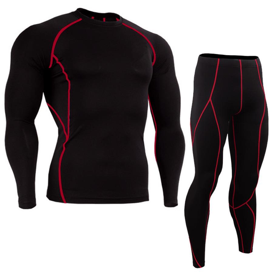 JACK CORDEE Quần áo mau khôQuần thể thao chạy bộ quần thun áo thun bán nóng co giãn nhanh chóng quần