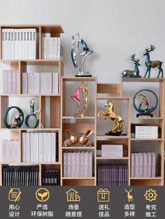 Formaldehyd Đồ trang trí bằng cao su  Trang trí phòng khách hiện đại trang trí nhà sáng tạo tủ tivi