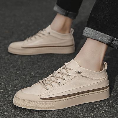 Giày thể thao thời trang chất liệu giả da dành cho nam .