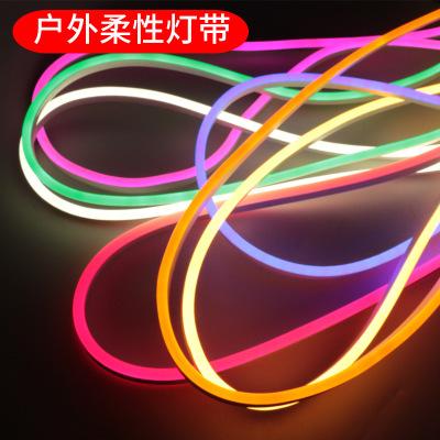 KAIJU Đèn LED dây led linh hoạt dải ánh sáng ngoài trời không thấm nước dòng đèn neon phòng khách đè