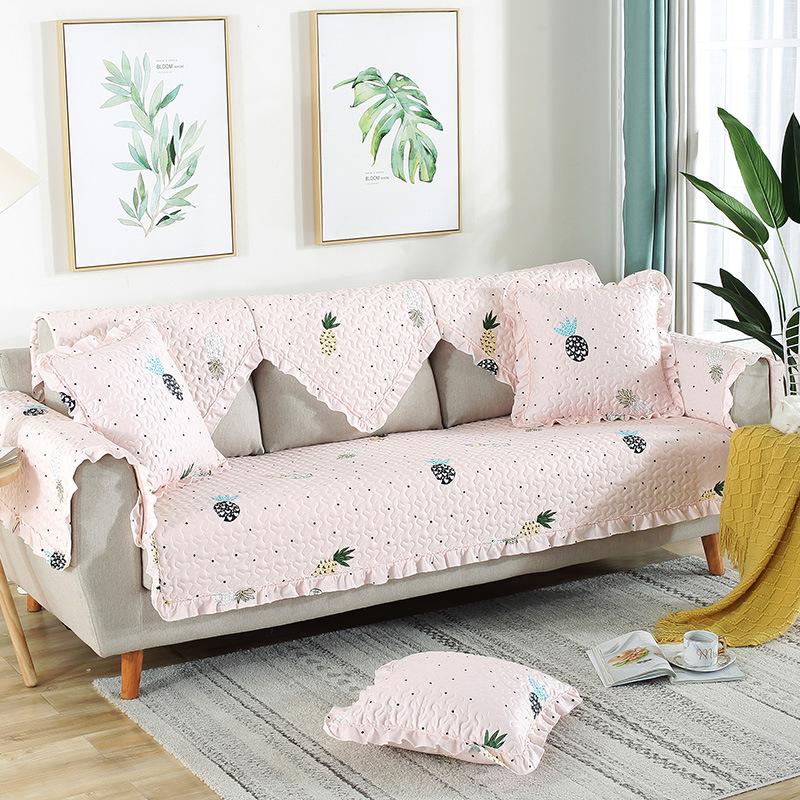 YONGZHEN Đệm lót SoFa Đệm bông có thể giặt theo phong cách châu Âu bốn mùa vạn năng vải đơn giản phò