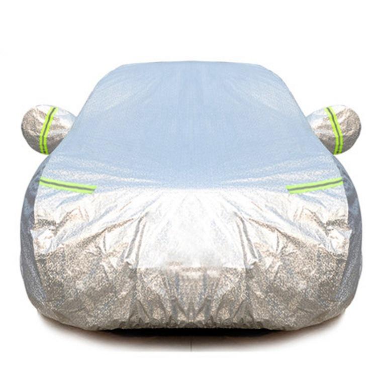 ZHANZHANLE Áo trùm xe hơi Nhôm phim xe quần áo che nắng bảo vệ chống mưa dày xe che nắng che nắng cá