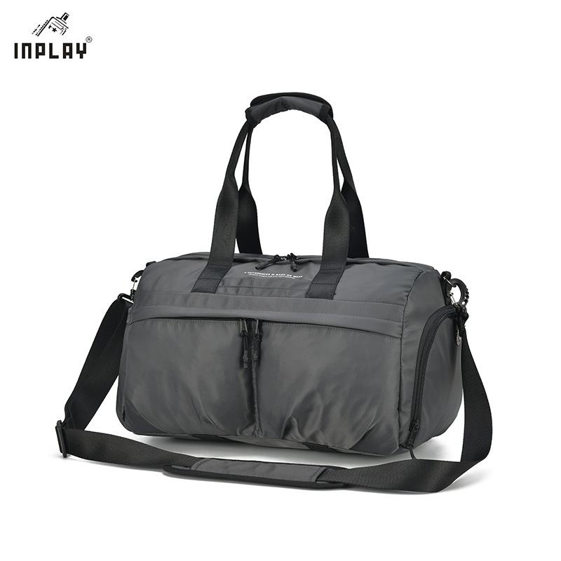 INPLAY Túi xách du lịch Túi thể dục mới tách ướt và khô tách túi hành lý không thấm nước túi yoga hà