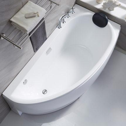 acrylic Bồn tắm Phòng tắm bồn tắm hình quạt hộ gia đình bồn tắm acrylic dành cho người lớn Bể sục că