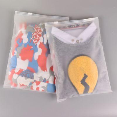 JIUPING Túi đựng quần lót Quần áo Trang phục Áo thun Nữ Đồ lót Bao bì Túi Zipper Bag Nhựa Clip Chain