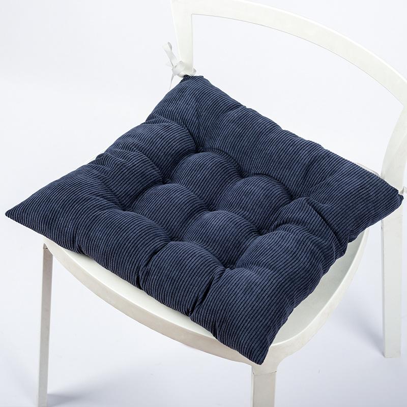 KBXS Đệm ngồi Mùa đông dày văn phòng nhung ghế pad ấm và thoáng khí ghế ăn pad vải đệm có thể được t