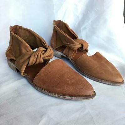Giày Loafer / giày lười Phụ nữ chỉ thương mại nước ngoài Tùy chỉnh của phụ nữ Hàn Quốc Giày đơn giản