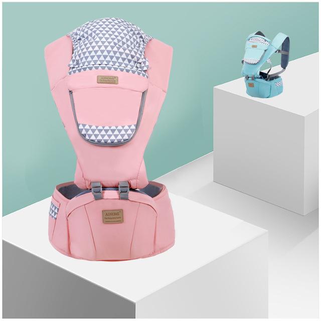 AINOMI Đai cõng bé Bốn mùa vai đa năng thoáng khí cho bé bế em bé mang bầu eo em bé bán buôn đồ dùng