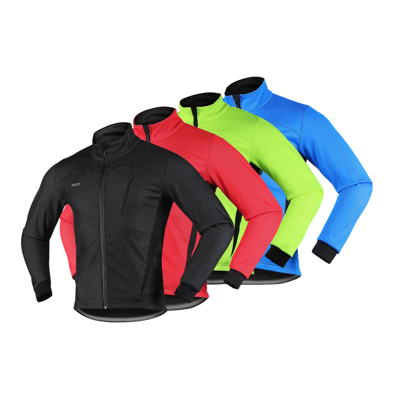ARSUXEO Trang phục xe đạp Các nhà sản xuất phát hiện arsuxeo mùa thu và mùa đông gió ấm lông cừu ngo
