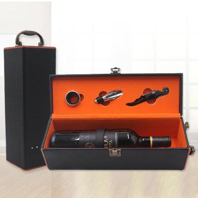 BAILIXUN Hộp da Hộp rượu cao cấp hộp rượu duy nhất bao bì hộp quà tặng hộp rượu tùy chỉnh rhinestone