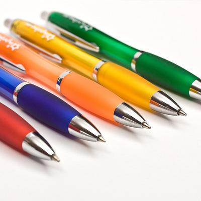 QIMINGXING Bút bi Văn phòng phẩm Văn phòng sáng tạo Cây bút Bút Bút Bút nhựa Quảng cáo Bút Quà tặng