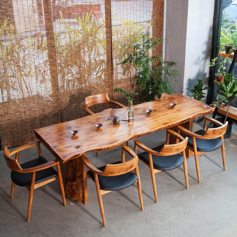 AILIN Bàn trà Mới Trung Quốc phong cách rắn bàn trà gỗ đăng nhập đầy đủ bàn trà Kung Fu văn phòng ti