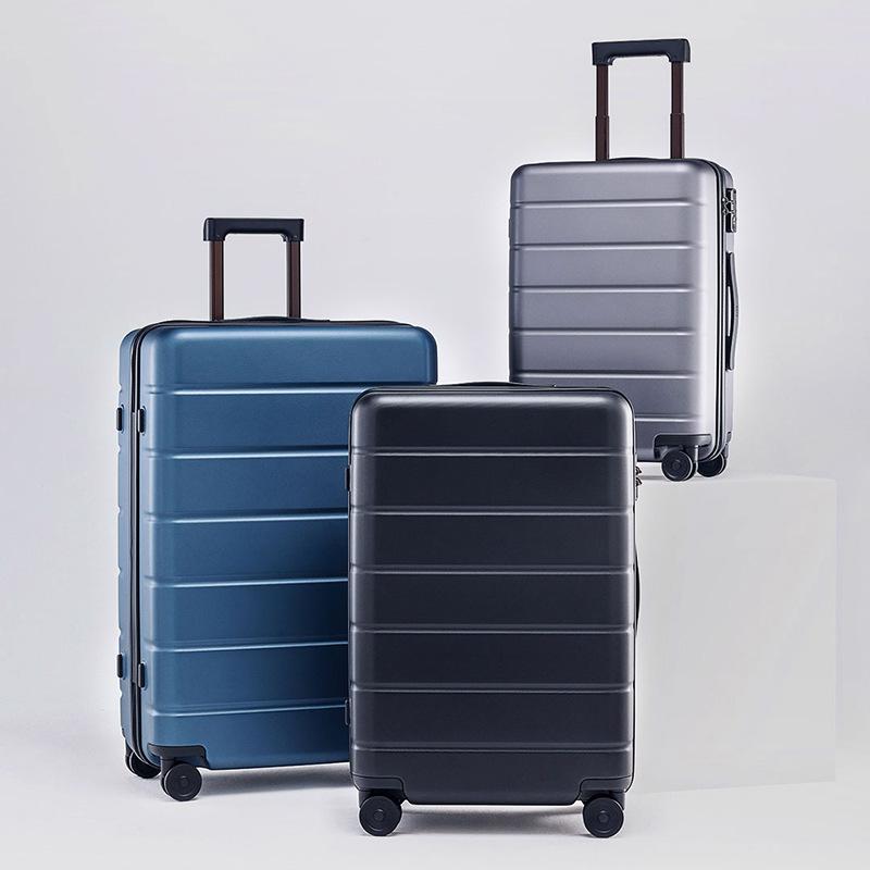 MI VaLi hành lý Xiaomi vali caster câm hành lý còng nhẹ PC chống mài mòn hành lý xe đẩy trường hợp t