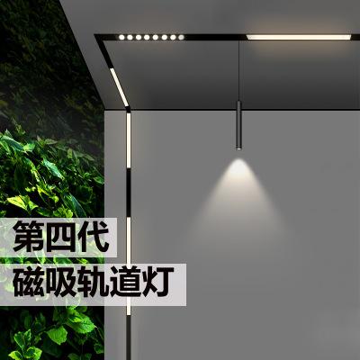 WANXIN Đèn LED gắn ray Đèn theo dõi từ cho biệt thự không có đèn chính