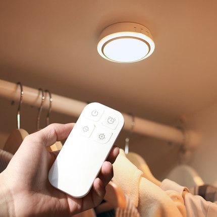 LIGHTMATES  thị trường nội thất , đèn Langmeike điều khiển từ xa không dây sạc pin dẫn đêm tủ quần á
