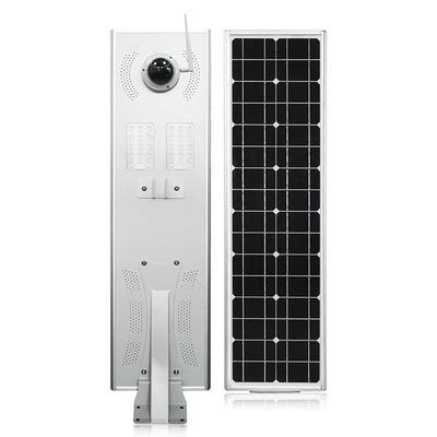 ALYG Đèn đường Đèn đường năng lượng mặt trời tích hợp 60W50W40W với camera giám sát với cảm biến hồn