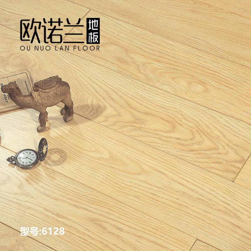 OUNUOLAN Giấy dán tường Nhà máy bán hàng trực tiếp nhiều lớp gỗ tổng hợp sàn gỗ 12 mm khóa sàn sưởi