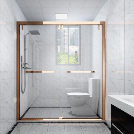 Yu Lin Bồn đứng tắm  thép không gỉ phòng tắm phân vùng glyph ướt và khô tách phòng tắm phòng tắm nhà