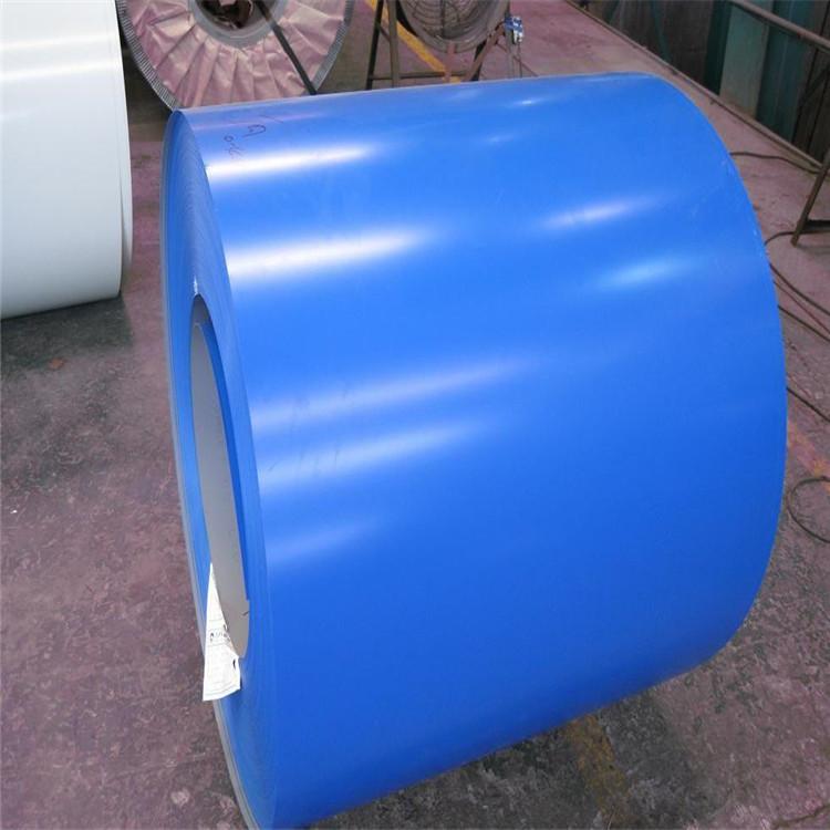Mạ màu Tấm mạ màu 0,5 biển màu xanh trắng xám mạ màu cho lớp vỏ thiết bị máy móc