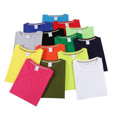 YAYI áo thun Tất cả mùa hè cotton vòng tròn dẫn nhóm các nhà hàng chỉnh tùy cái áo thun cộc tay nam