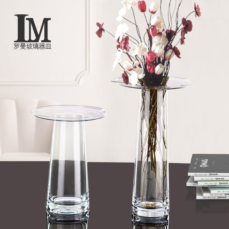 JPYK Bình bông Đơn giản và hiện đại sáng tạo bình hoa nhiều màu hoa cắm hoa xu hướng xu hướng phòng