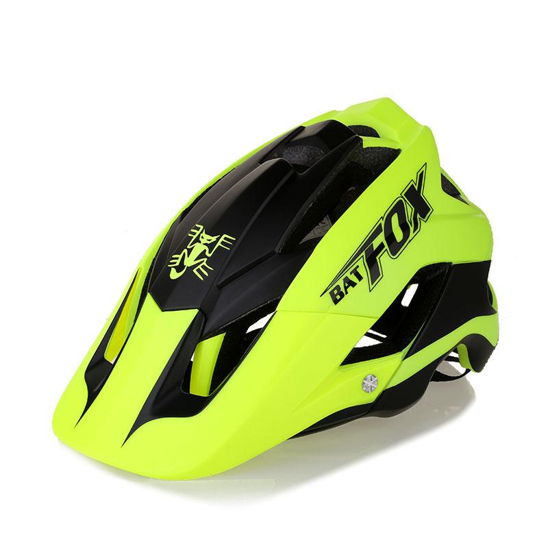 Th ị trường xe Mũ bảo hiểm xe đạp BATFOX / Beaver Xe đạp leo núi Tích hợp Mũ bảo hiểm Cưỡi-F-659