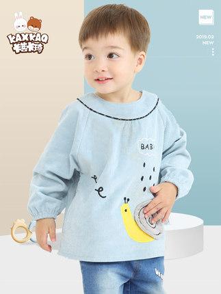 Áo khoác  Quần yếm bé mùa thu và mùa đông nhung bé trẻ sơ sinh không thấm nước dài tay nhỏ yếm cotto