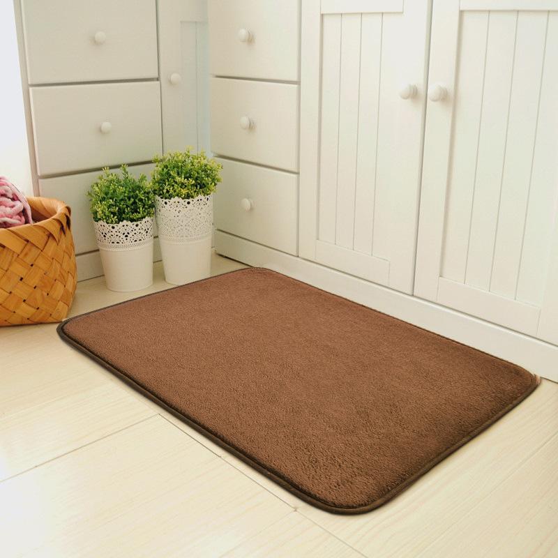 PENGCHENG Đệm chân Nhật Bản phong cách đơn giản hiện đại thảm lối vào cửa mat mat cửa phòng ngủ lối