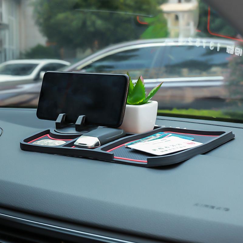 Đệm chống trơn Giá đỡ điện thoại di động, đệm chống trượt xe, dụng cụ điều hướng xe, đệm chống ngáy,