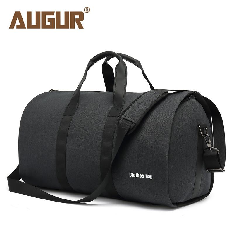 AUGUR Túi xách du lịch Lưới mới phù hợp với túi lưu trữ túi du lịch thể thao công suất lớn túi du lị