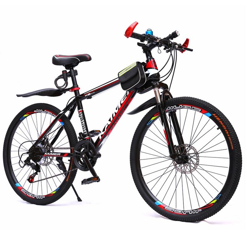 Kaimeier Xe đạp leo núi cưỡi xe đạp leo núi học sinh trung học cơ sở xe đạp người lớn đơn giản biến