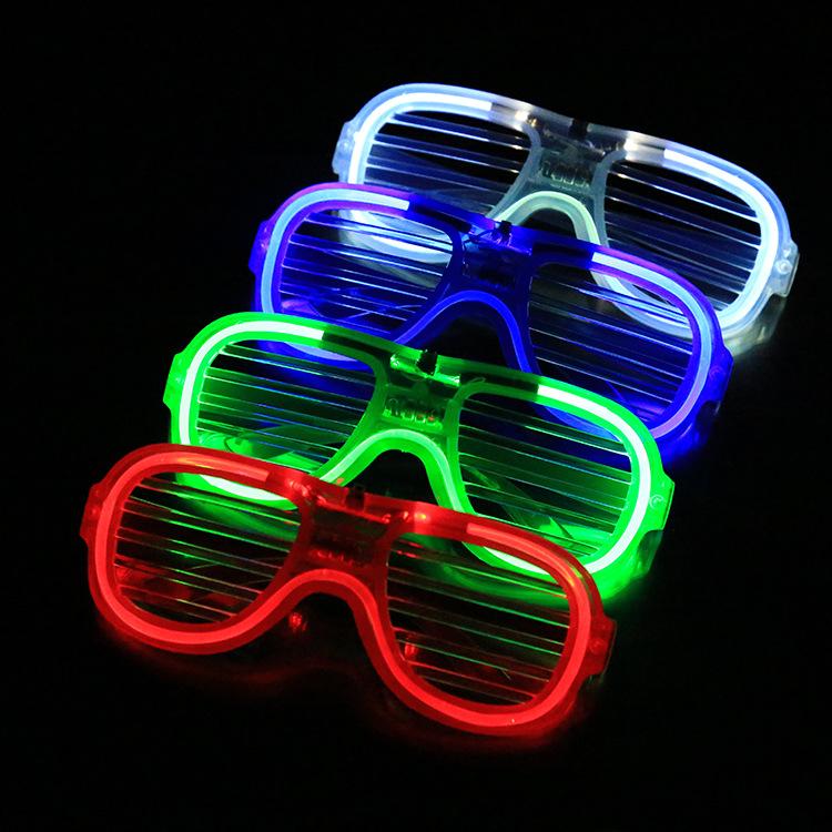 Đồ chơi phát sáng Bán xuyên biên giới nóng Giáng sinh trang trí kính dạ quang rèm led ánh sáng lạnh