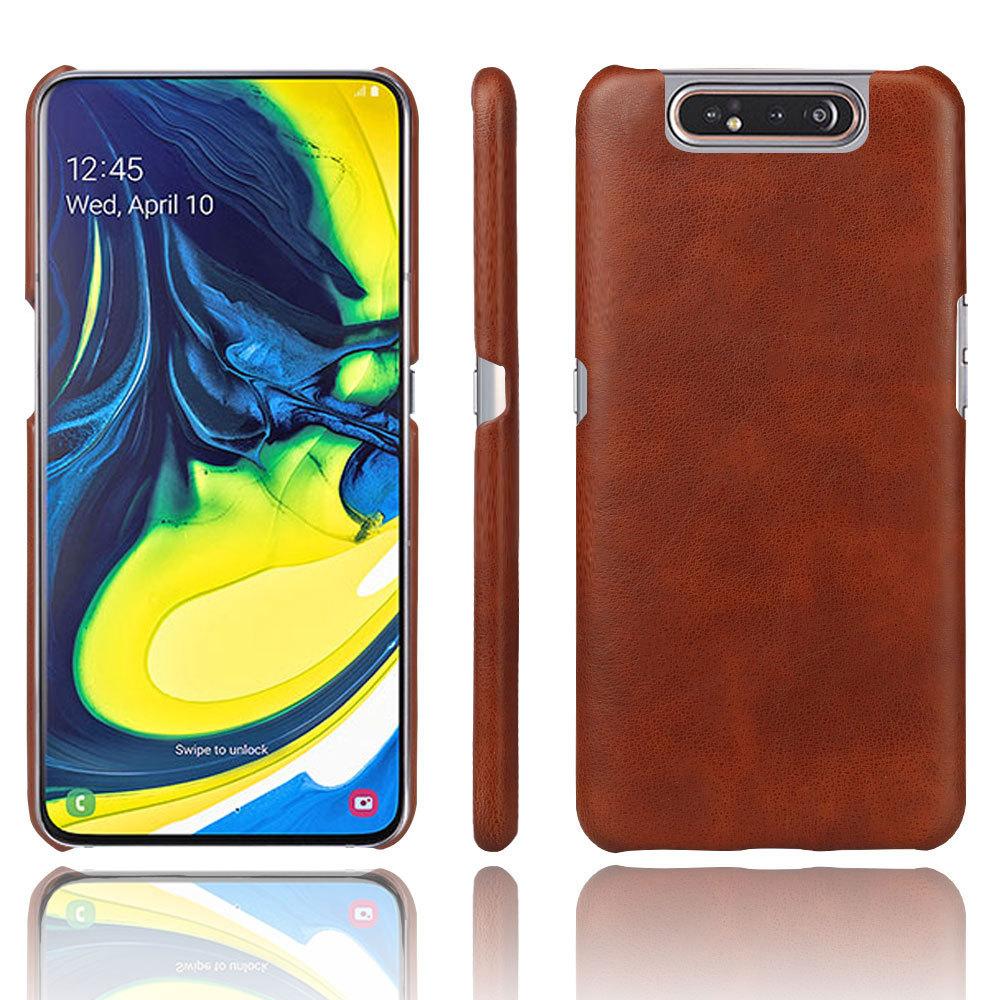 KSQ bao da điện thoại Ốp lưng điện thoại Samsung Galaxy A80 cho vỏ bảo vệ Samsung A80 A80 crazy ngựa